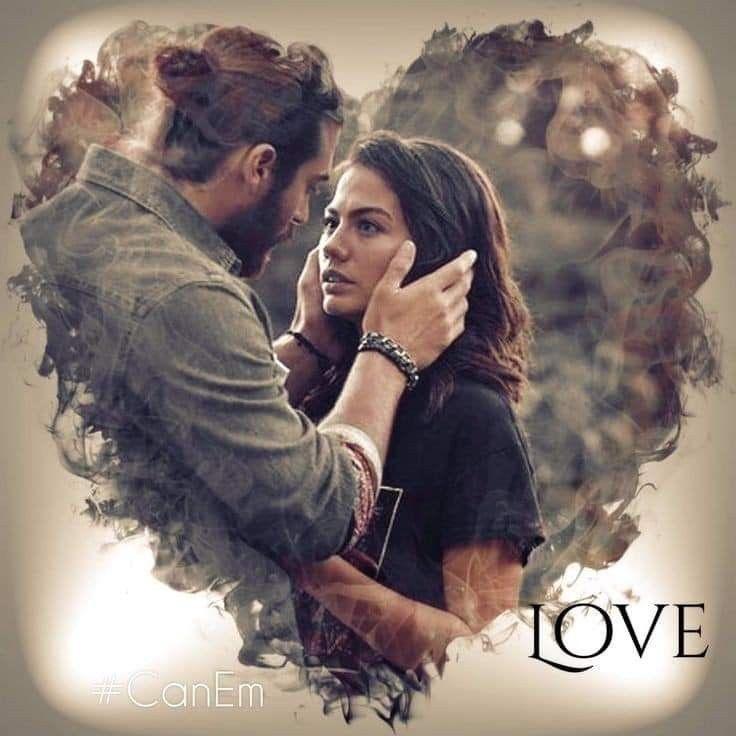 Pin By Nisa Ozen On Sanem Can Sanem Cute Love Couple Turkish Film