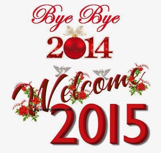Welcome 2015 #bestwishes
