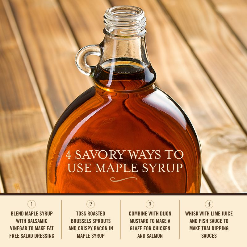 Think beyond breakfast with these savory uses for Dark Amber Maple Syrup.