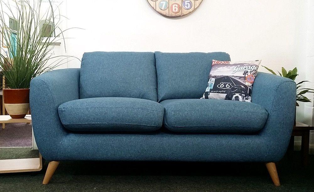 Next Walton Retro Style 2 Seater Sofa In Teal Fabric Uk Delivery Sofa Seater Sofa Sofa Clearance