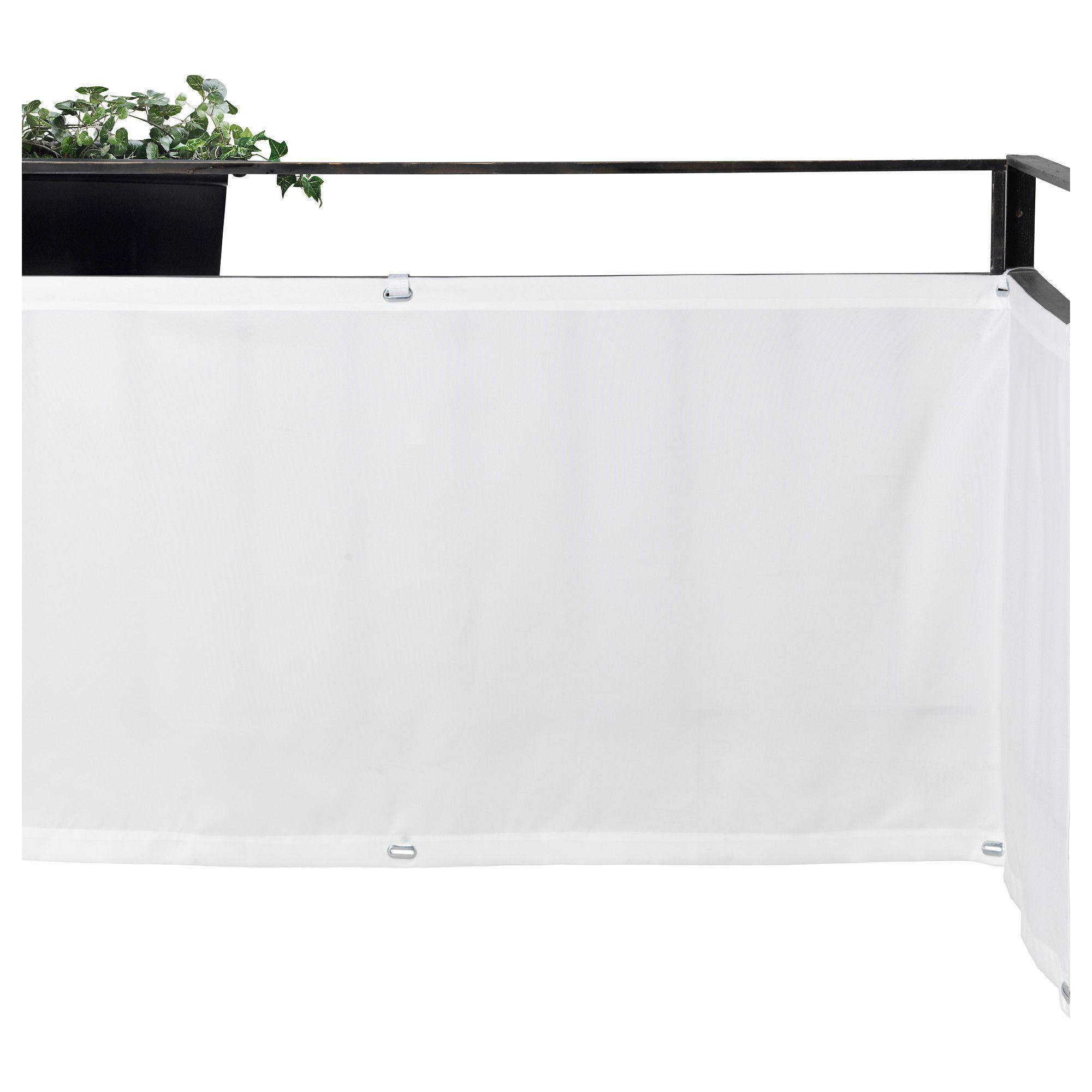 Ikea Sonnenschutz dyning wind sonnenschutz weiß ikea balkony