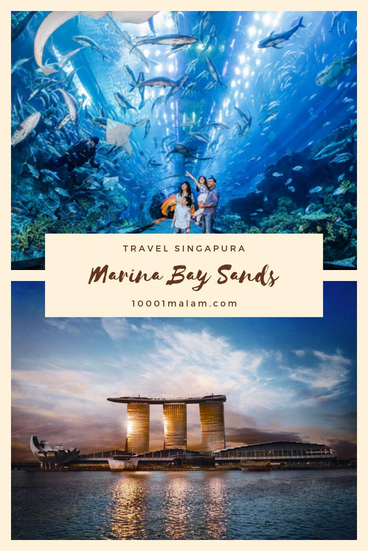 Marina Bay Sand Merupakan Wisata Dengan 3 Gedung Utama Yang