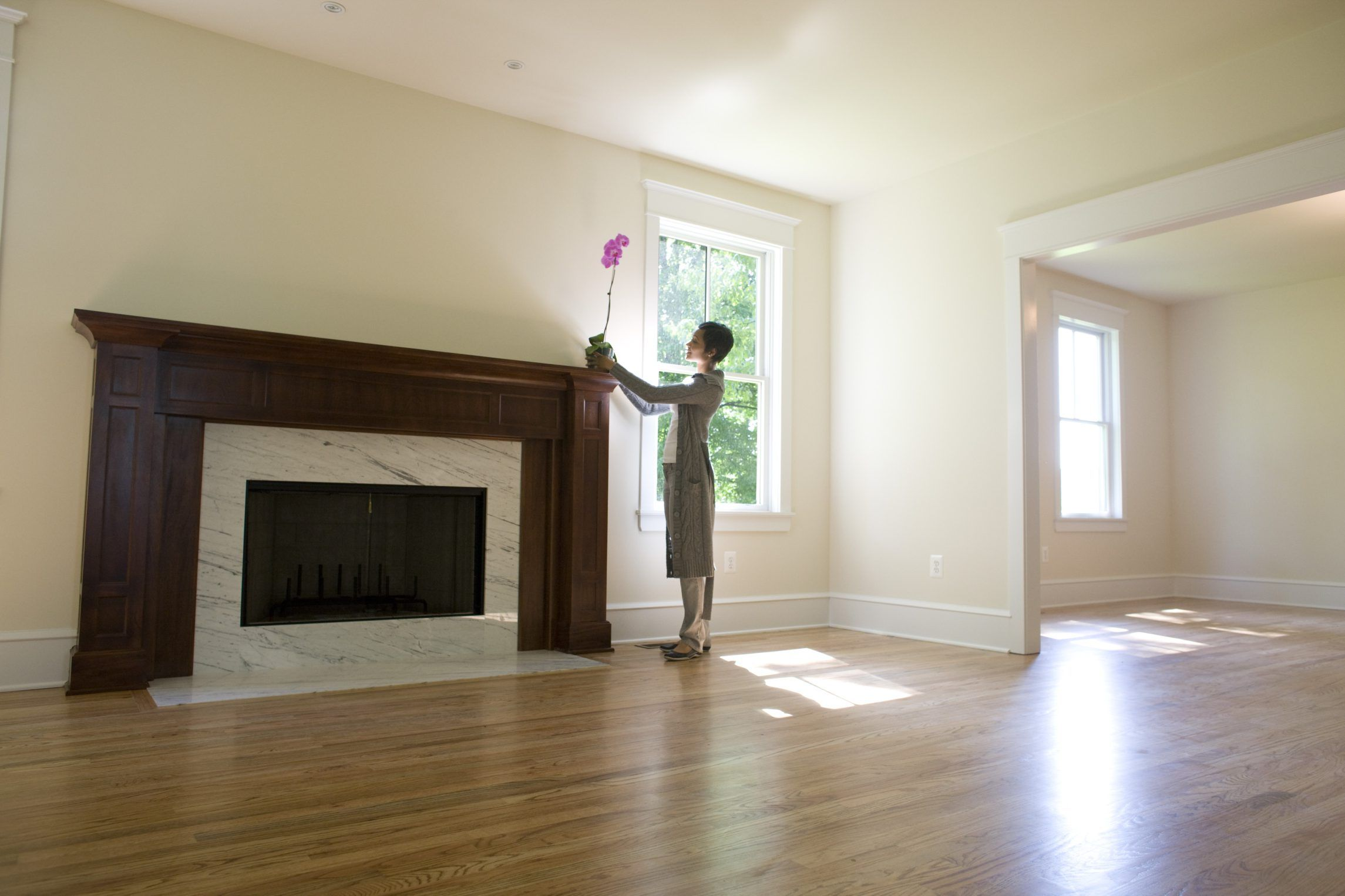 How To Get Rid Of A Musty Smell In A Gas Fireplace A Foul Odor Coming From Your Chimney Is With Images Build A Fireplace Slate Fireplace Surround Long Narrow