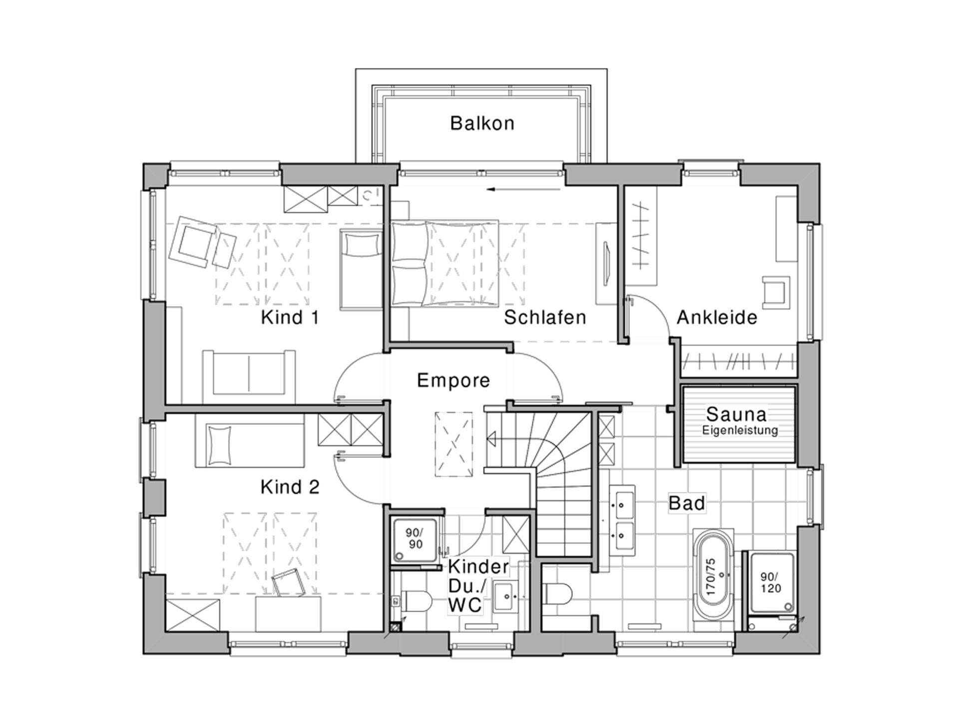 Wohnideen Raumaufteilung edition 425 wohnidee haus grundriss dg viebrockhaus