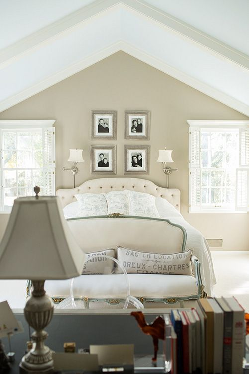 We Painted It A Warm Taupe Gray Aspen Gray From Valspar Home Bedroom Home Bedroom Inspirations