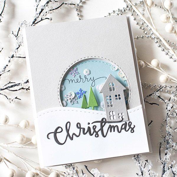 Metal Cutting Dies Stencil DIY Embossing Christmas Card Merry Christmas