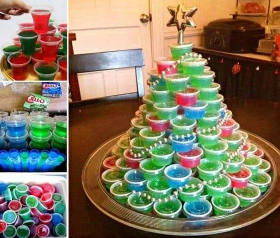You are going to love this Jello Shot Christmas Tree Recipe. We have 70 jello shot ideas plus video directions to show you how to make your own at home.