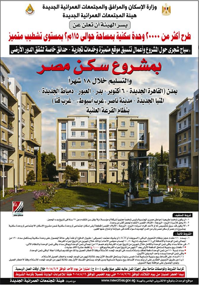 فتح باب الحجز بمشروع سكن مصر لمن تقدموا في المرحلتين السابقتين Building Multi Story Building Structures