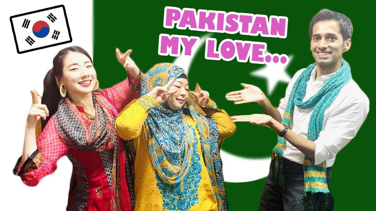 Why These 🇰🇷 Korean Girls Love Pakistan 🇵🇰 | Yerin & Ayperi