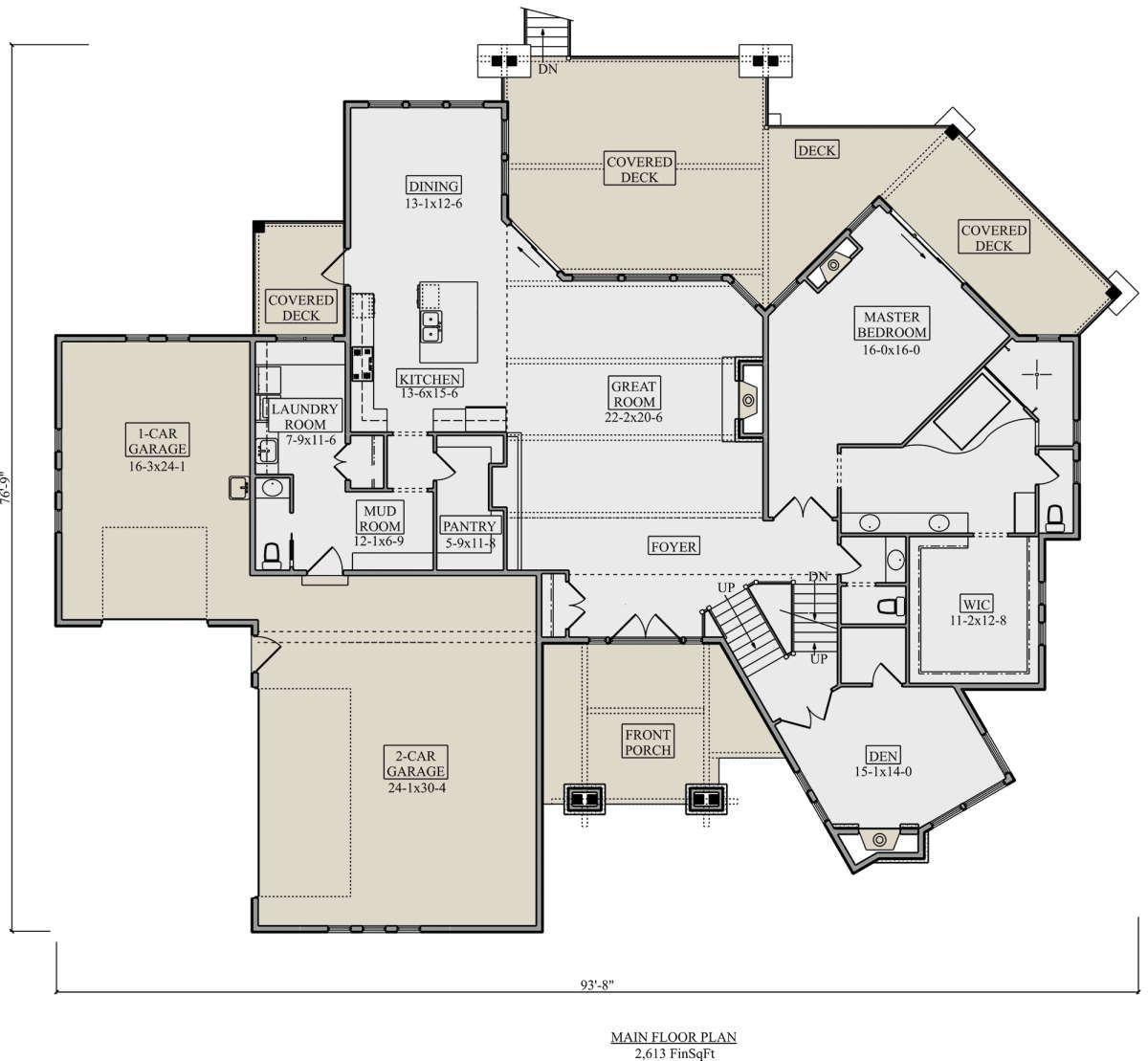House Plan 5631 00107 Contemporary Plan 3 587 Square Feet 3 Bedrooms 4 Bathrooms Rustic House Plans Contemporary House Plans House Plans