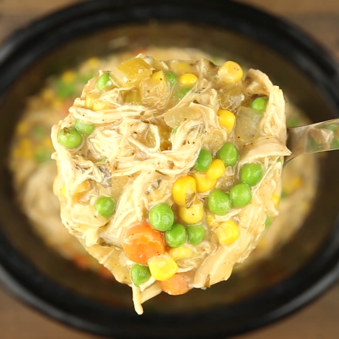 Photo of SLOW COOKER CHICKEN POT PIE