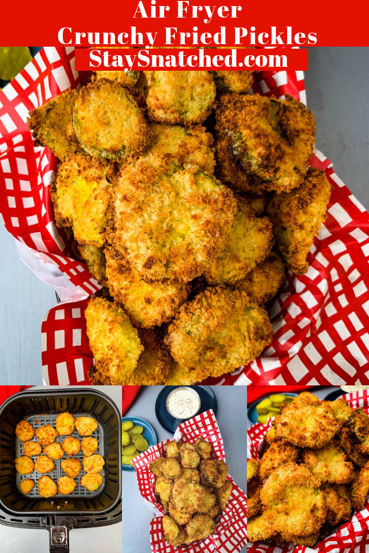 Easy, Air Fryer Crunchy Fried Pickles Fried pickles