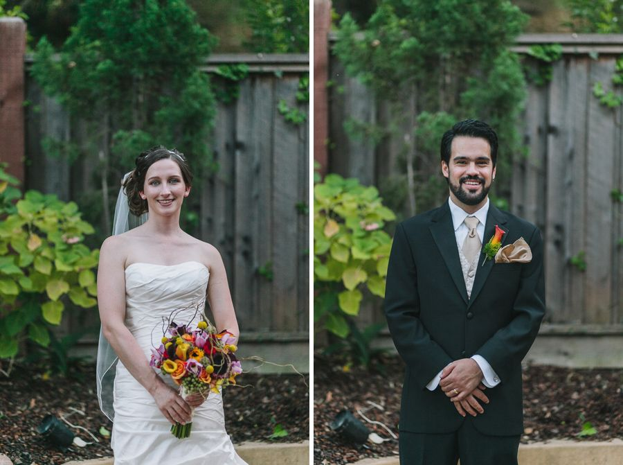 Bride and Groom at their lovely Los Gatos wedding!