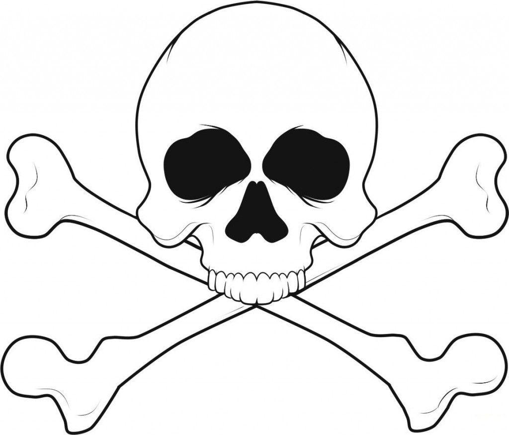 Free Printable Skull Coloring Pages For Kids | skulls | Pinterest ...