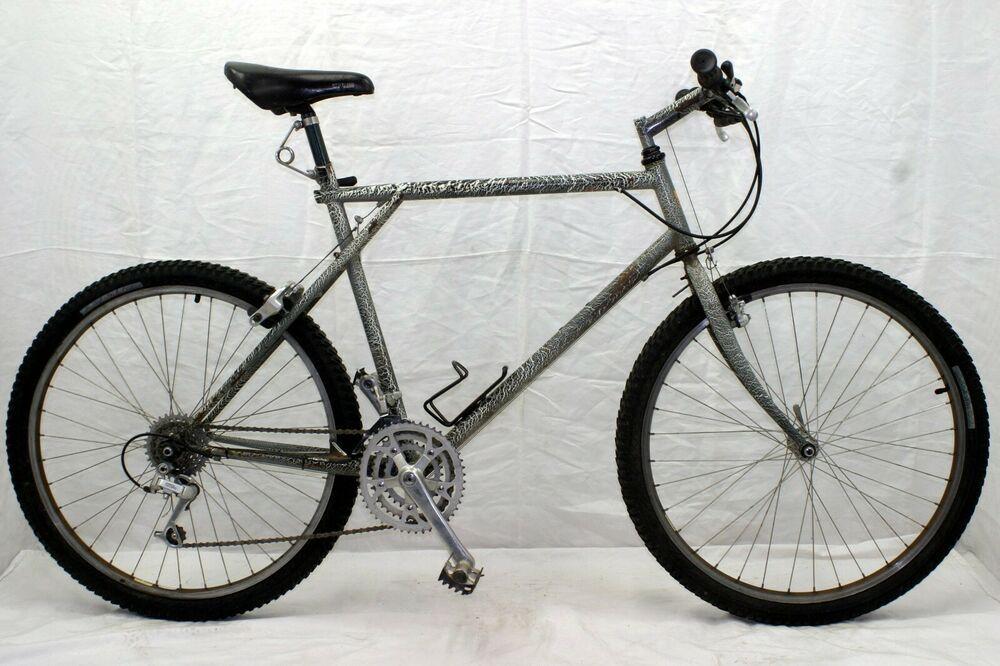 Gt Zebra Vintage Mountain Bike Mtb Large 22 Hardtail Rigid Steel Deore Charity Trek Vintage Mountain Bike Red Bike Bicycle Design