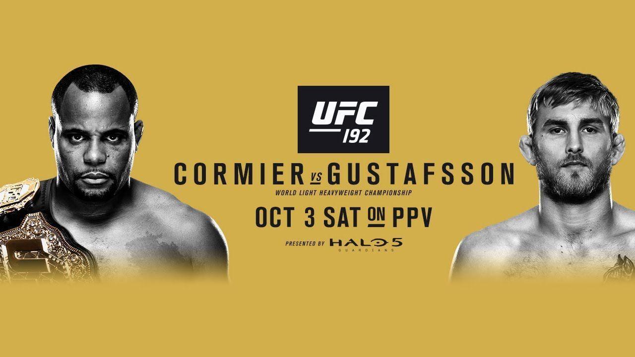 Ufc 192 Cormier Vs Gustafsson Autographed 27 X 39 24 Signature Event Poster Fanatics Authentic Certified Ufc Daniel Cormier Martial Arts