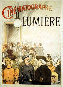 Cinematograph Lumiere Advertisement 1895 Jpg Storia Dell Arte