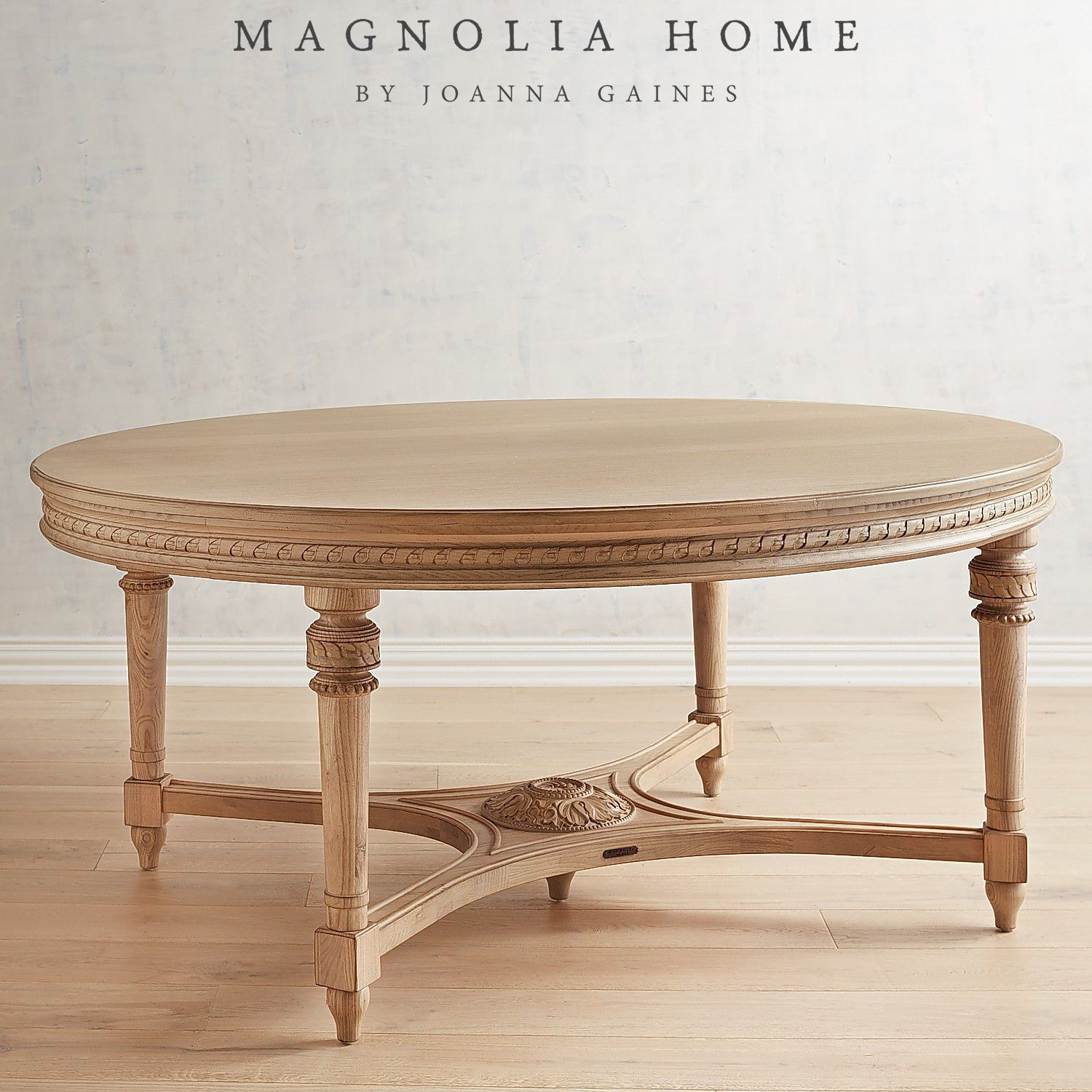 22 French Country Decorating Ideas For Modern Dining Room: Magnolia Home English Country Wheat Oval Dining Table