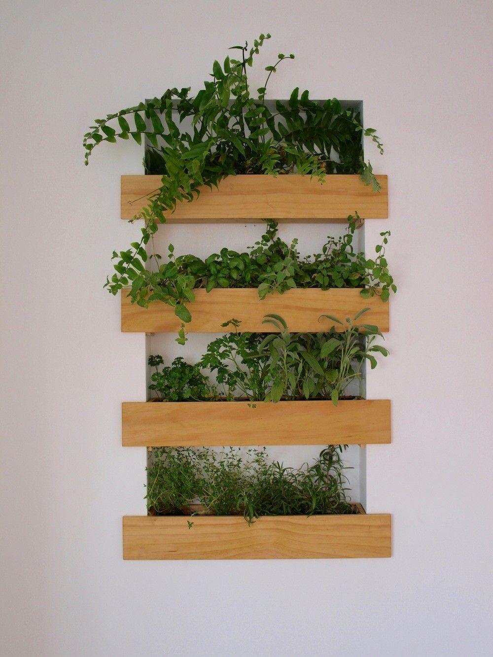 Interior Planter Box Built In Herb Garden Wall Planters Indoor Diy Wall Planter Planter Boxes