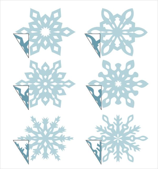 3d Snowflake Template Christmas Pinterest Snowflake template - snowflake template