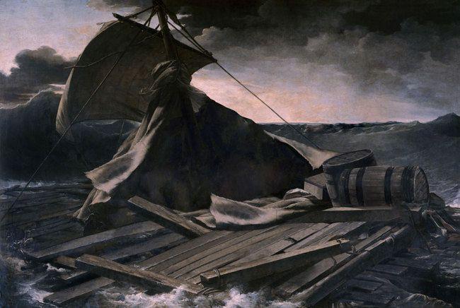 Un artiste imagine les plus grands tableaux de l'histoire entièrement vides, sans personnages