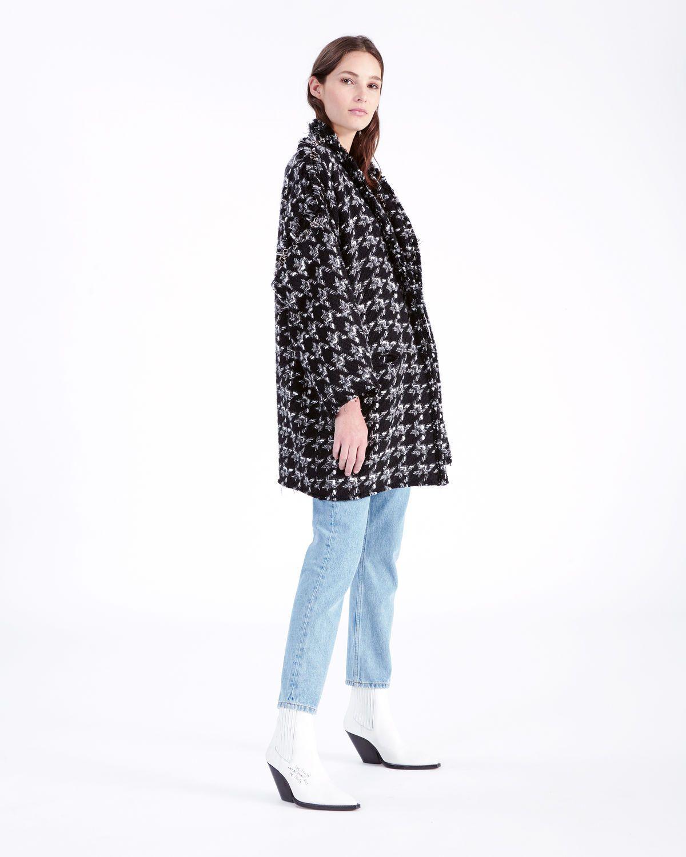 Coat Iro Bday Trouble Manteau Et Black Tweed Pinterest 4w4vOrq6