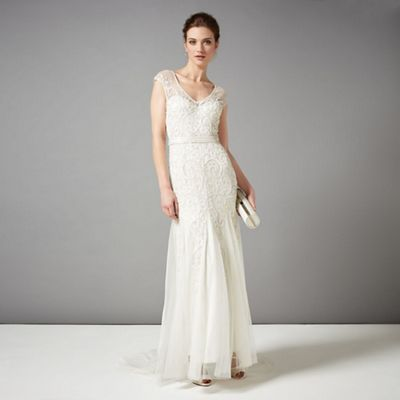 Phase Eight Ivory Elbertine Wedding Dress