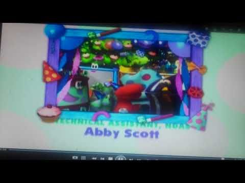 Blue S Room Credits Fred S Birthday Dvd Youtube Nick