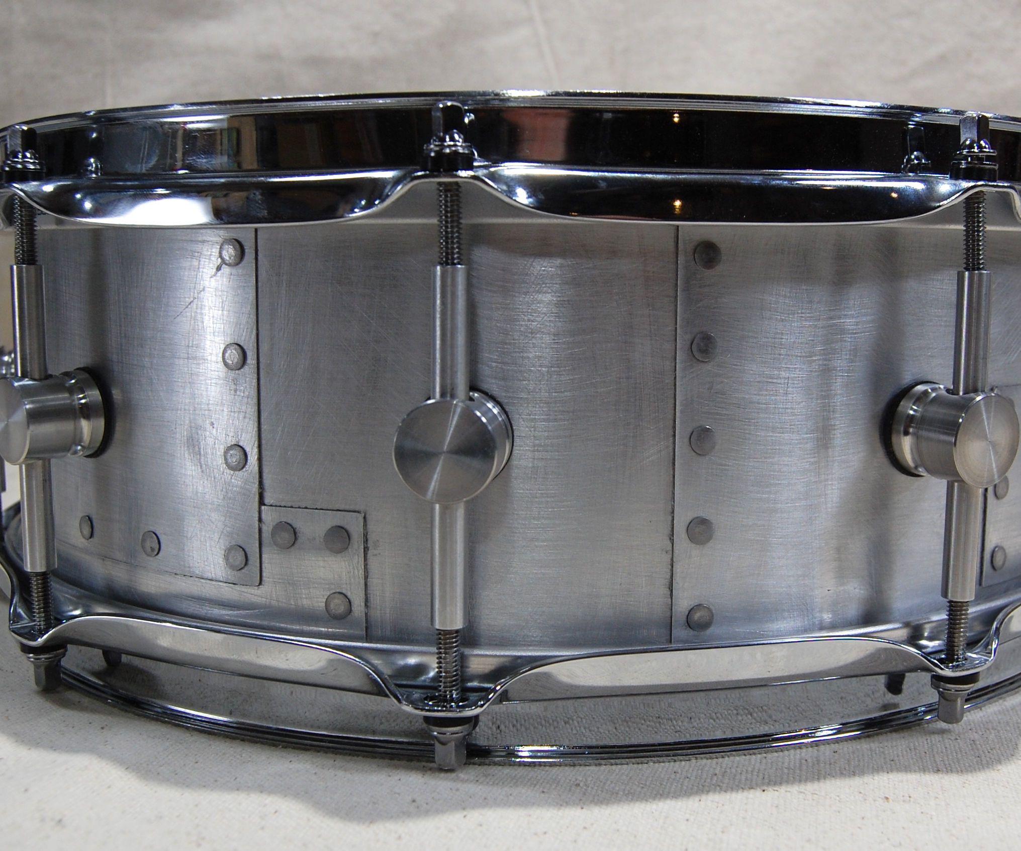 The Layered Sheet Metal Snare Drum Drums Snare Drum Metal Drum