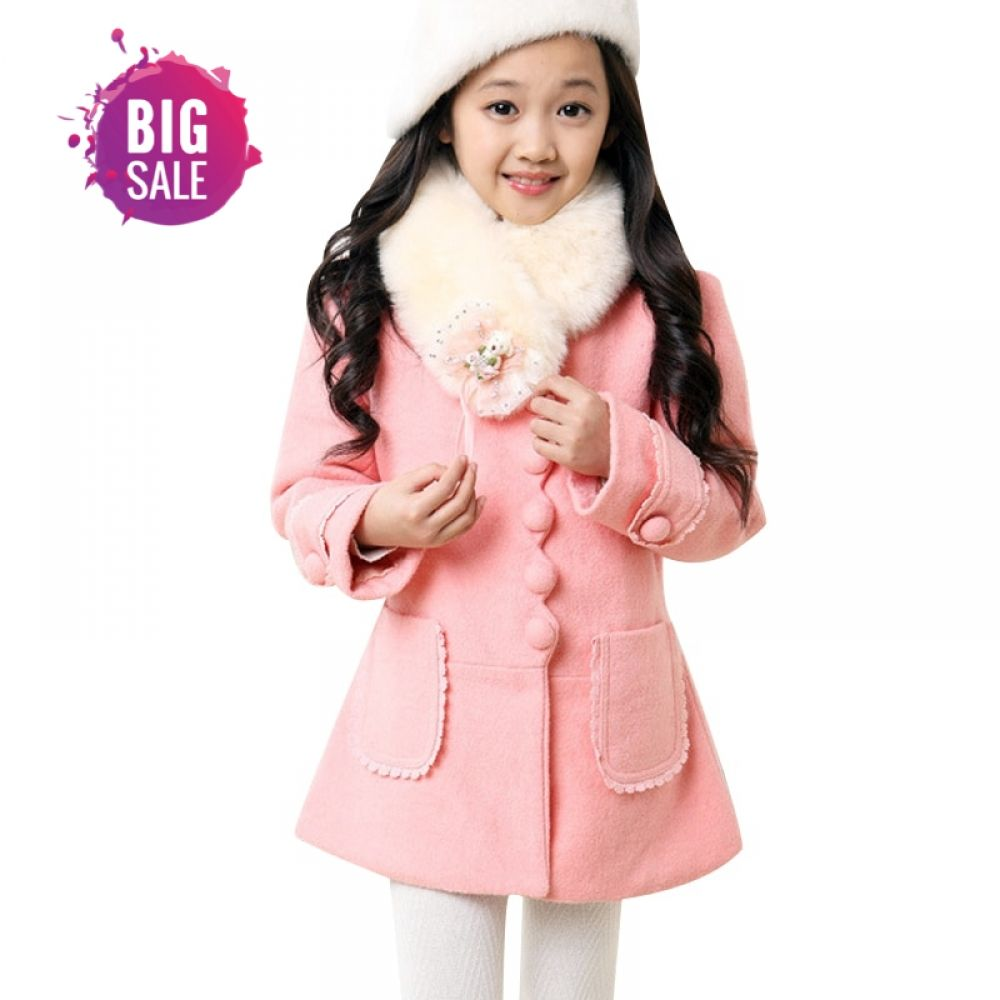 6686033dea382 Winter Girls Jackets Coats For Kids Warm Baby Coats Children Clothing  Hooded Cotton-padded Clothes Jackets For Girls Price: 17.74 & FREE Shipping  #childcare
