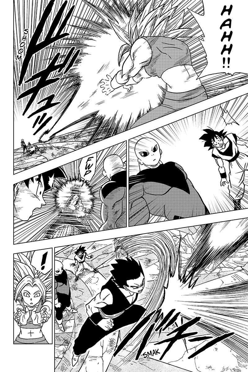 Dragonball Super Manga Chapter 38 Gohan Vs Kefla Panel 1 Dragon Ball Super Manga Dragon Ball Art Dragon Ball Image