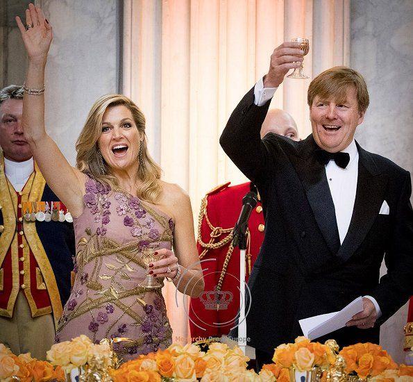 Festive Dinner To King Willem-Alexander's 50th Birthday