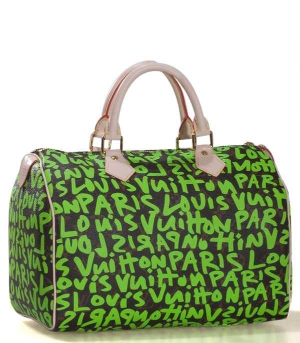 270fa45ce16f Louis Vuitton Monagram Canvas Graffiti Speedy 30 M93706