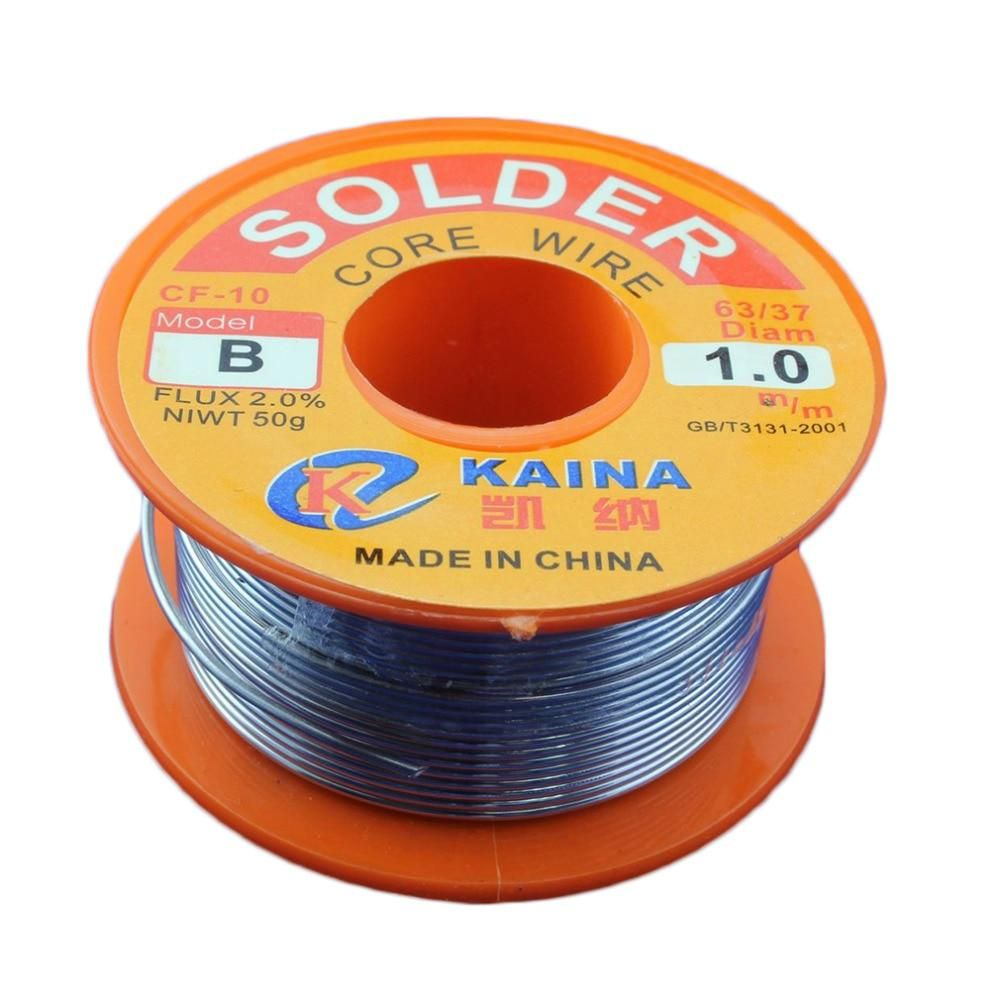 Dropshipping Excellent Top Quality 45ft Tin Lead Line Rosin Core Flux Solder Soldering Welding Iron Wire Reel Hot Selling With Images Welding Wire