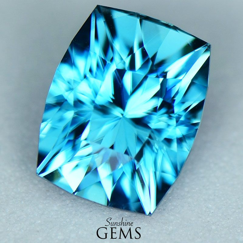 5.42ct Blue Zircon MJ5884 $985
