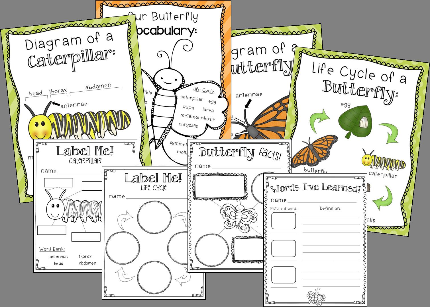 Butterflies And A Freebie