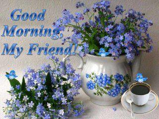 Good Morning My Friend Good Night My Friend Good Morning My Friend Romantic Good Morning Messages