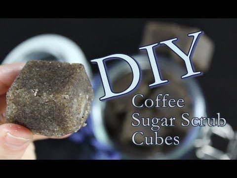 DIY Coffee Scrub Cubes How To Make Sugar Scrub With