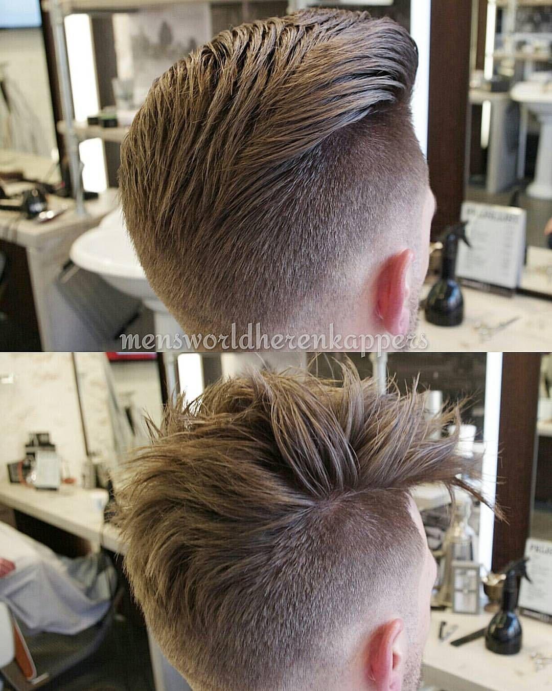 "Men's World Herenkappers⚪ on Instagram: ""1 or 2?  #Menshairstyle #hairmenstyle #barbershopconnect #modernsalon #thebarberpost #barbersinctv #menshaircut #hairstylist #hairdressing #barberlove #barbergang #barberlife #barbergame #barberlove #undercut #hairstyle #mensgrooming #menslook #mensfashion #barbershop #barbering #barber #groningen #haircut #Zwolle #Enschede #kapper #guyswithstyle #barbier #hairdresser"""