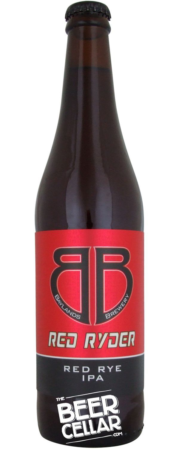 Buy Baylands Red Ryder Ipa 500ml Bottle Brewed In New Zealand By Baylands Brewery The Beer Cellar New Zealand Beer Cellar Beer Hoppy Beer