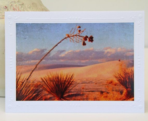 White sands at sunset photo greeting card fine art my shop white sands at sunset photo greeting card fine art m4hsunfo