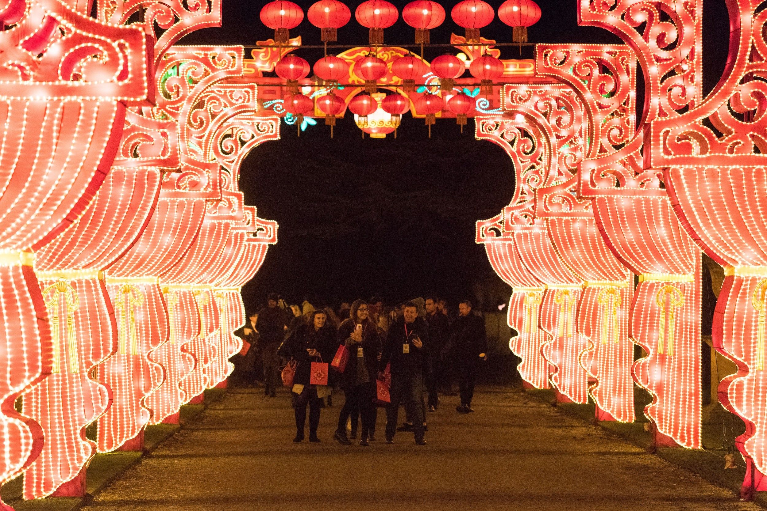 China's Silk Road hits London for Lunar New Year | Magical ...