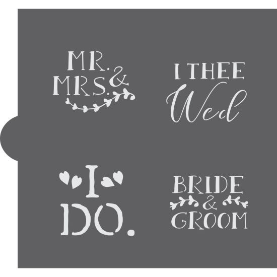 Pin On Diy Wedding Decor Stencils