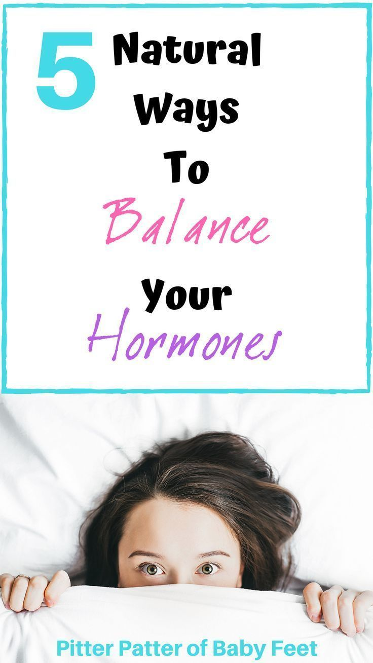 A women may suffer from a hormonal imbalance and not even