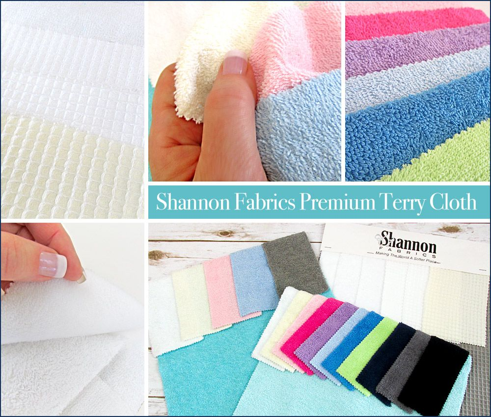 Terry Cloth Shower Wraps for Men; Women | Sew4Home