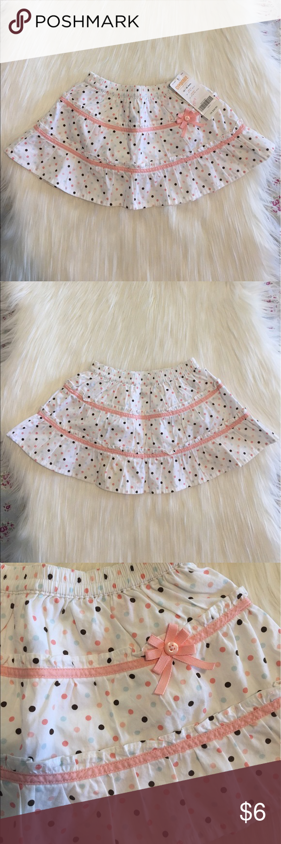 NWT Gymboree Brand Skirt! NWT Gymboree Brand Baby Skirt!                                                        • Colors: White, Brown, Light Pink, & Baby Blue!                      • Brand: Gymboree!                                                                   • Size: 12-18 mos.!                                                                      • Happy to answer any ?'s!                                                          • Offers welcome! Gymboree Bottoms Skirts