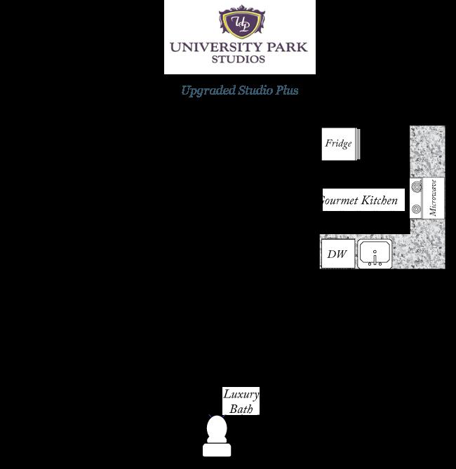 Park Place Apartments Gainesville: University Park Studio Plus