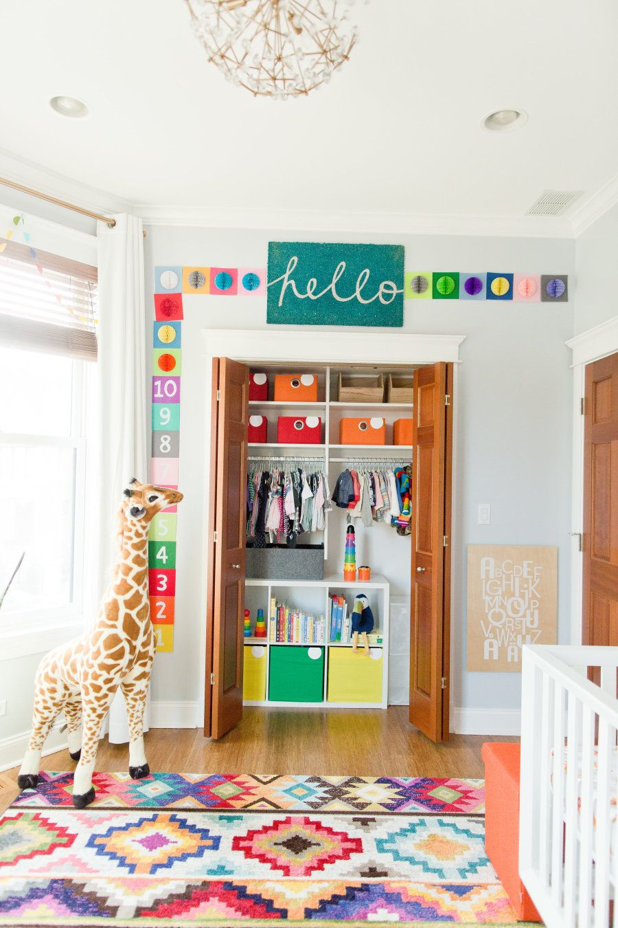 A Colorful Twin Nursery Inspired by a Vacation in South Africa