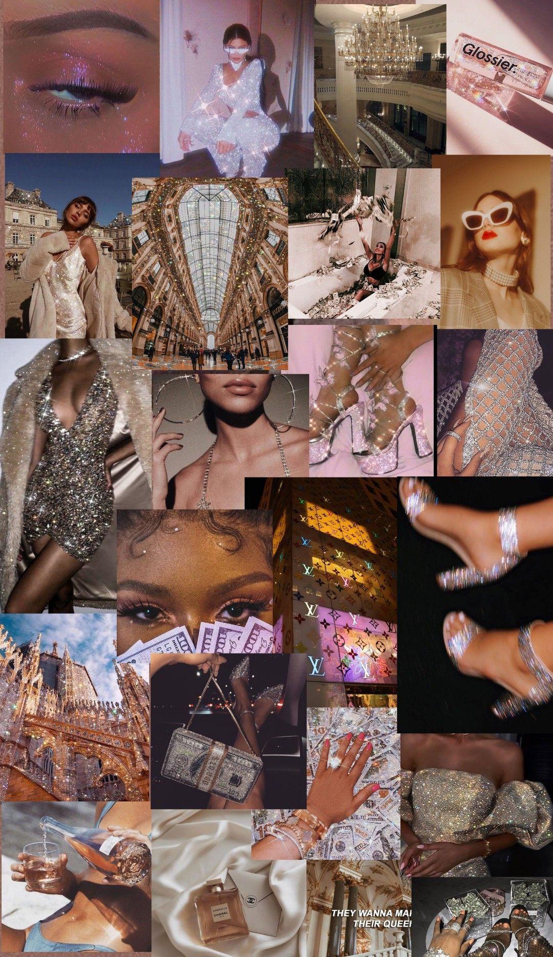 rich aesthetic | Wallpaper de luxo, Colagem de foto na ...