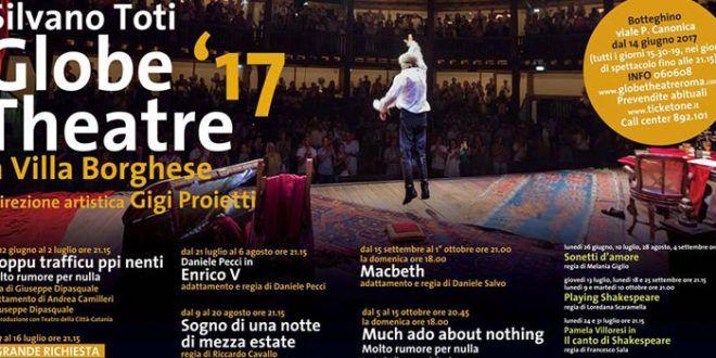 Shakespeare sotto le stelle di Roma, riparte la stagione del Globe Theatre